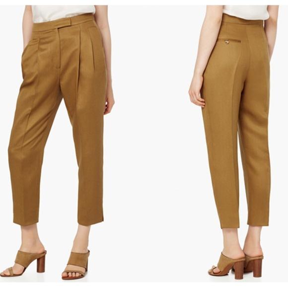 sélection premium 82a07 dc428 Mango PREMIUM Pantalon baggy tissu doux Crop Pants